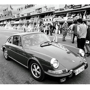 "Steve McQueen's Porsche 911S :: From ""Le Mans"" (Sold for $1.375 Million)"