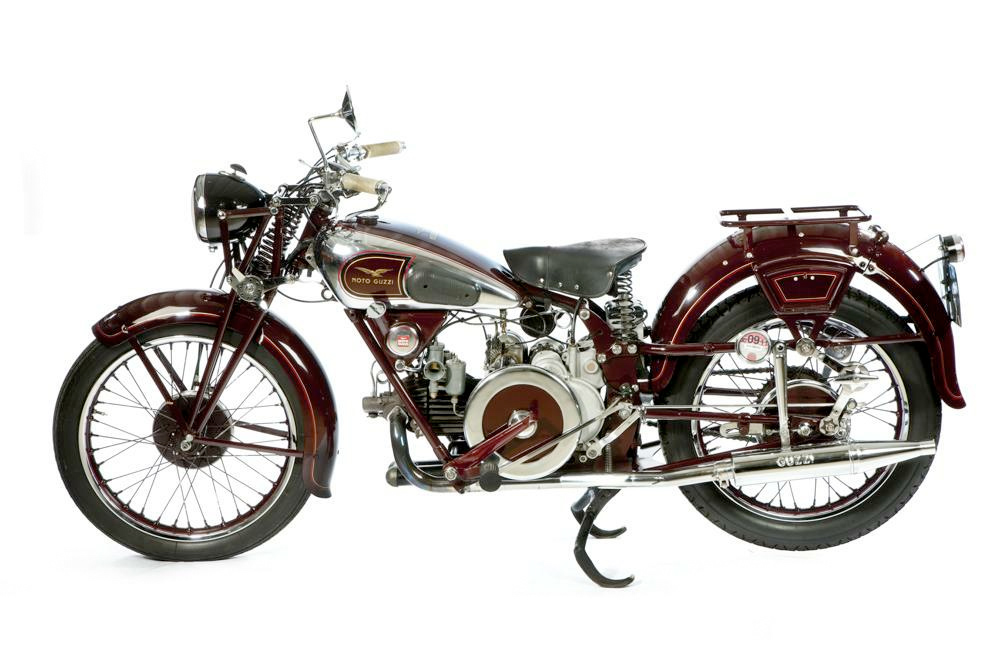 1934 Moto Guzzi GTS Motorcycle :: Sport Antiques UK