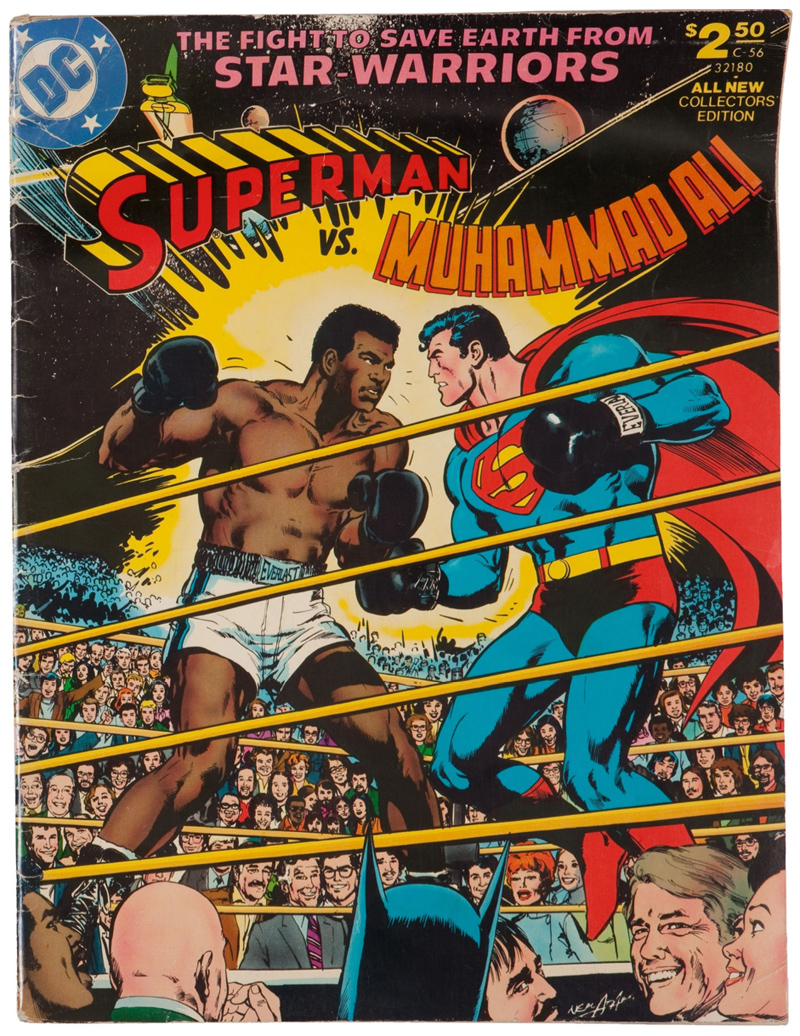 1978 Marvel Comic :: Muhammad Ali vs. Superman