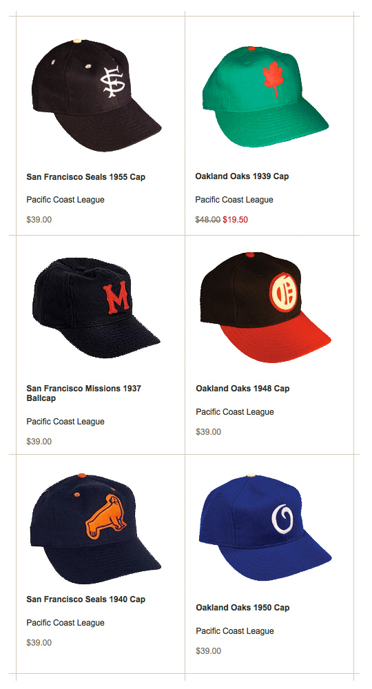 Ebbets Field Flannel Ballcaps – Bay Area