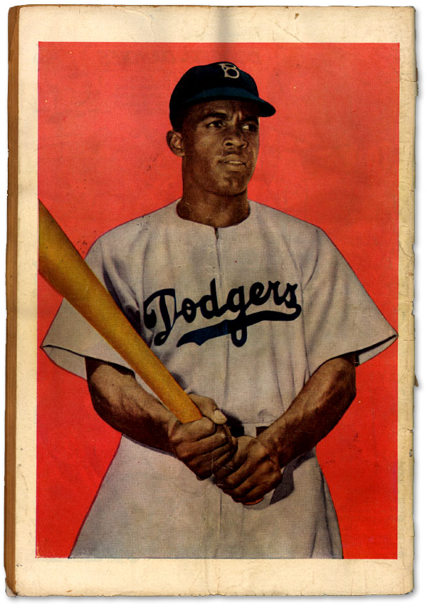 Jackie Robinson Comic Book :: Back Cover :: Library of Congress