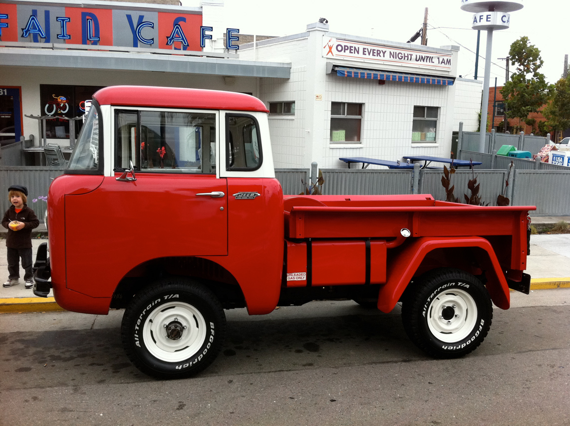red jeep fc  150 megadeluxe for the love of speed