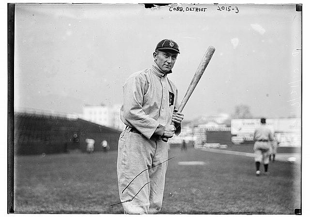 Tyrus Raymond Cobb, Detroit Tigers :: Library Of Congress