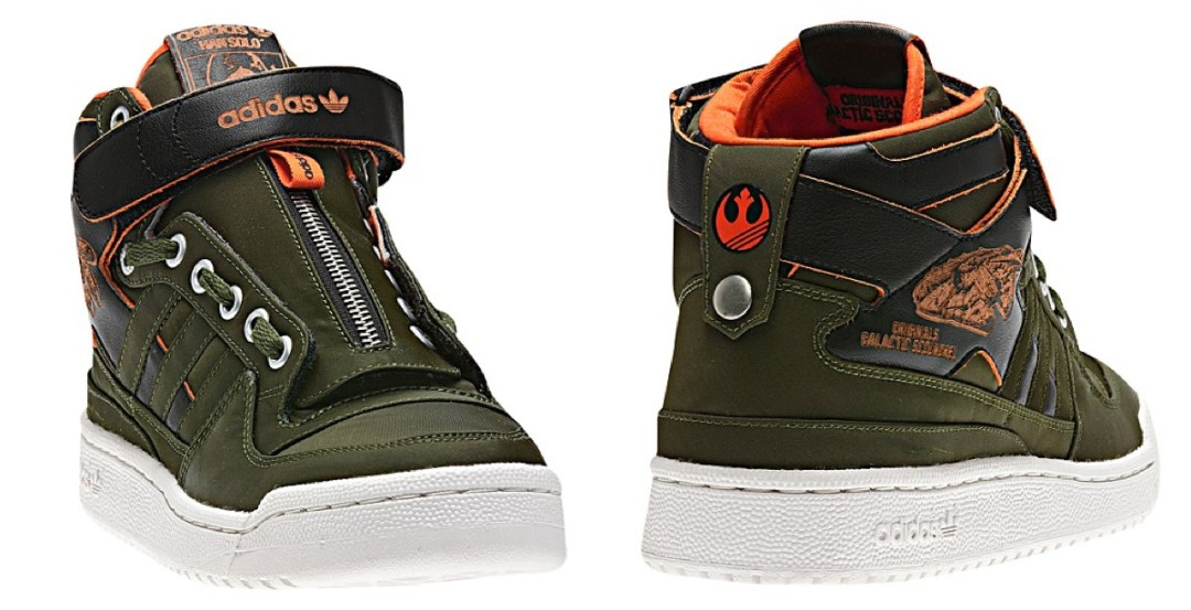 Star Wars Forum Mid Shoes :: Adidas