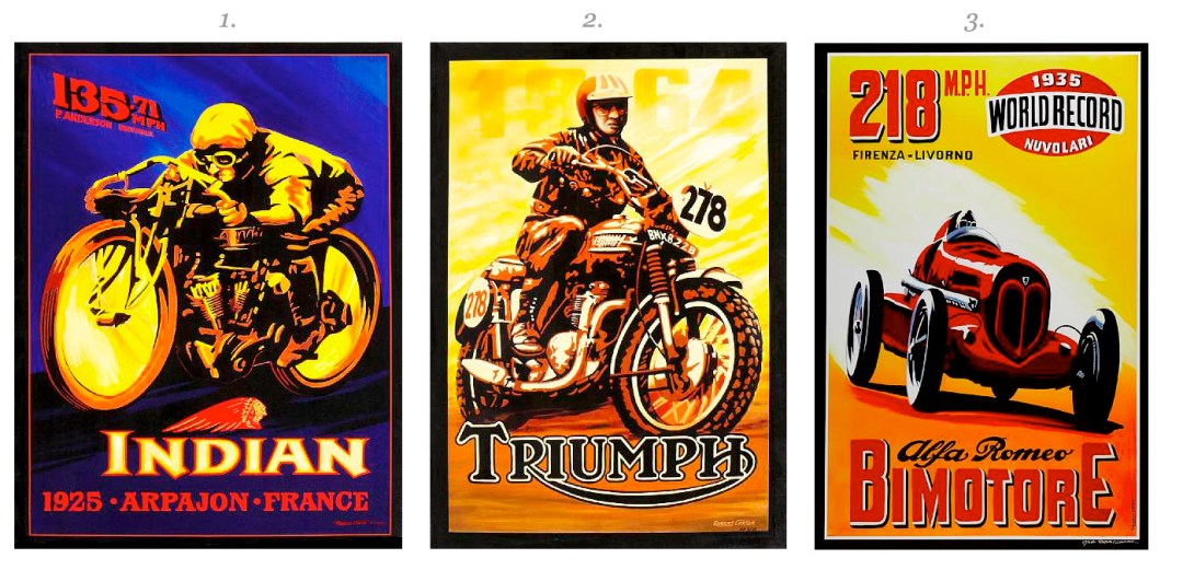 3 Posters :: Classic California: Collectors' Motorcycles, Motorcars, and Related Memorabilia - Bonhams