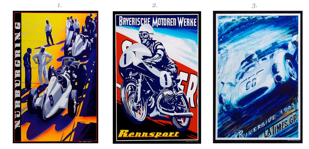 Robert Carter Posters – Part 2 :: Classic California: Collectors' Motorcycles, Motorcars, and Related Memorabilia :: Bonhams