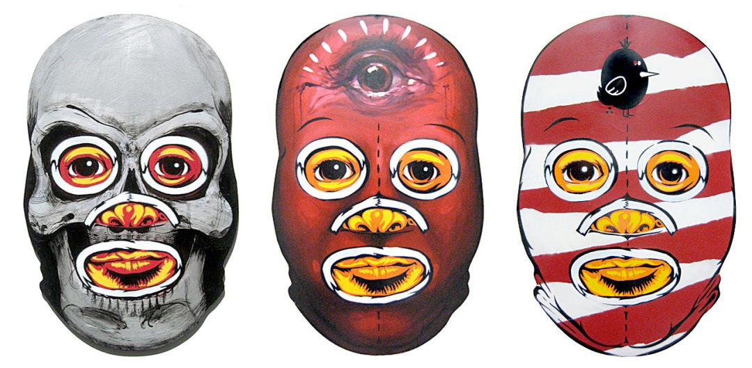 Luchador Collab-o-Mask :: Peat Wollaeger