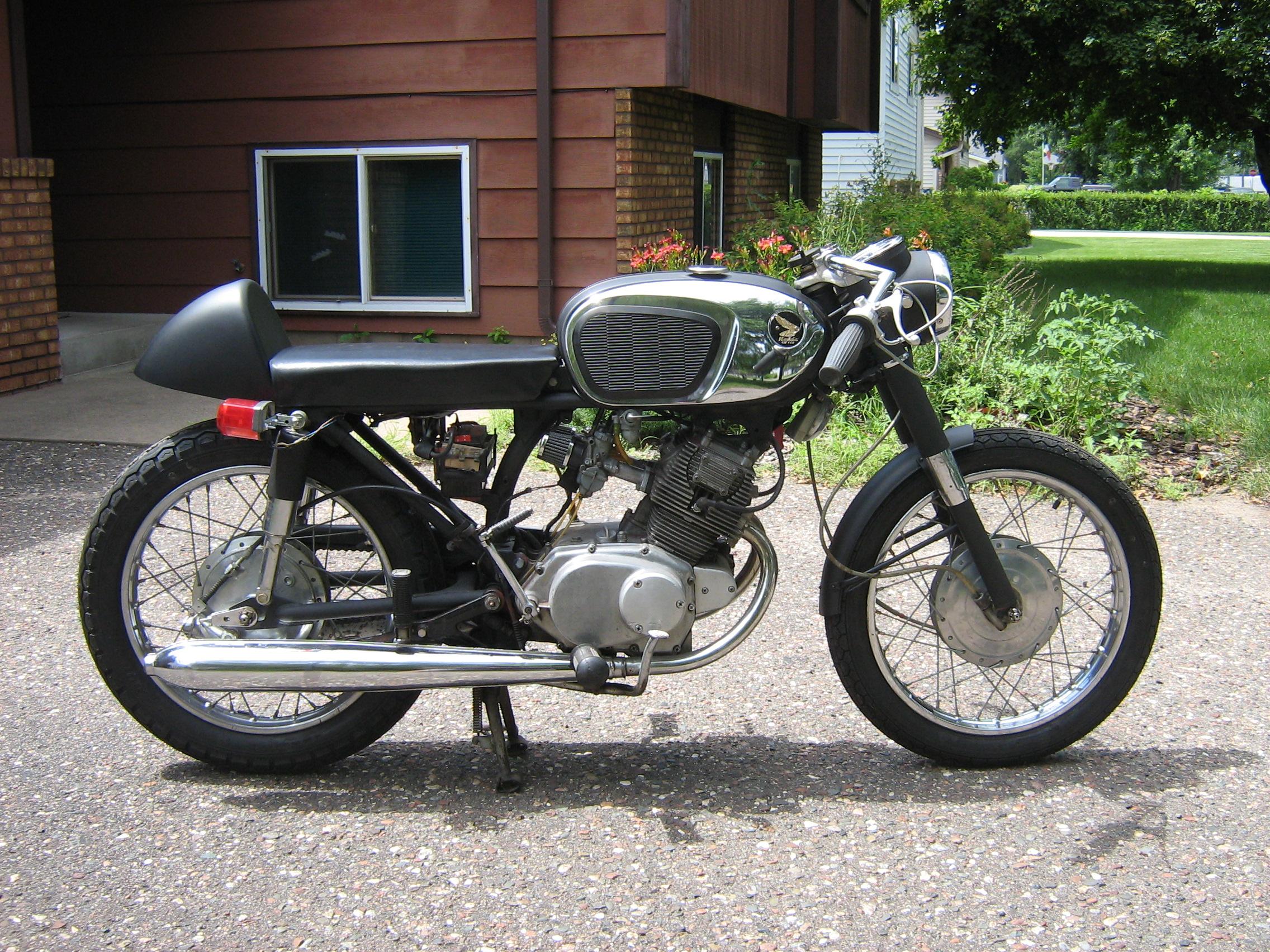 1966 Honda CB160 Cafe Craigslist Find