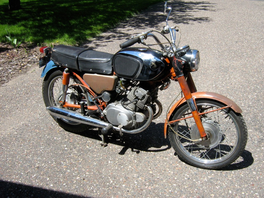 1966 Honda CB160 Cafe :: Craigslist Find