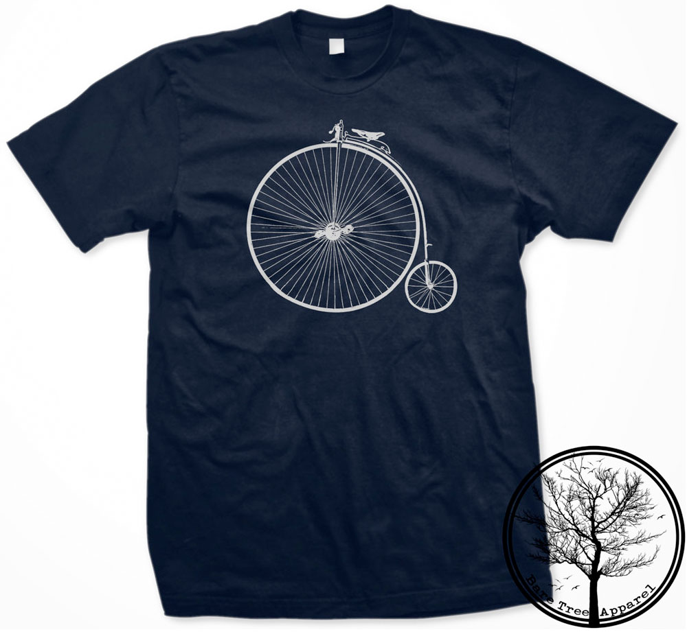 Old School Penny Farthing Bike :: Bare Tree Apparel
