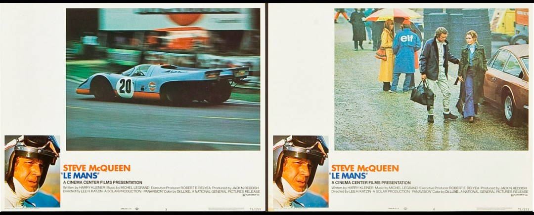 Le Mans (National General, 1971). Lobby Card