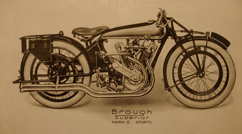 Brough Superior Mark II Sports 1922-23