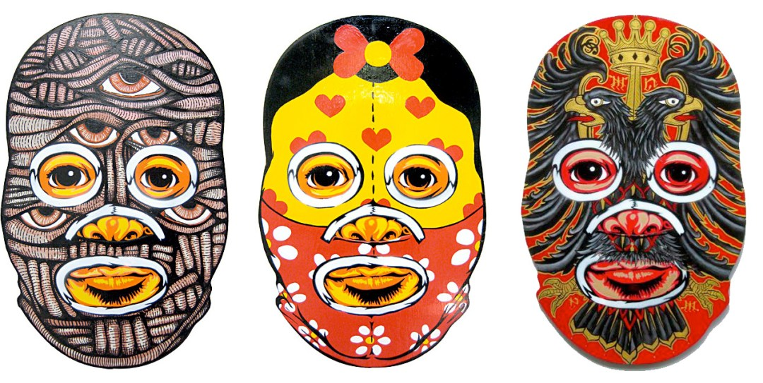 Luchador Collab-​o-​Mask – Part 2 :: Peat Wollaeger (1)