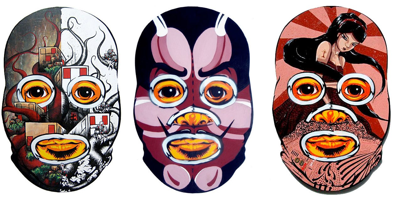 Luchador Collab-​o-​Mask – Part 2 :: Peat Wollaeger (2)