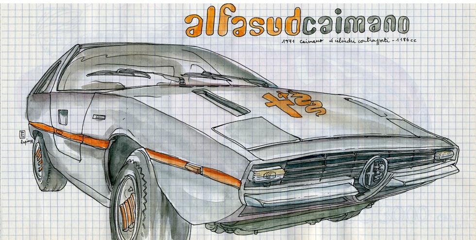 Alfa Romeo Centenary :: Les Illustrations de Lapin (3)