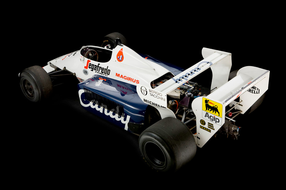Senna's 1984 Toleman TG-184-2 :: Silverstone Auctions (3)