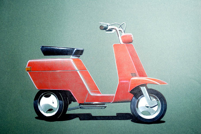 Pio Manzù :: PIAGGIO VEHICLES (4)