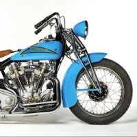 "1937 Crocker 61ci ""Hem-Head"" V-Twin Engine"