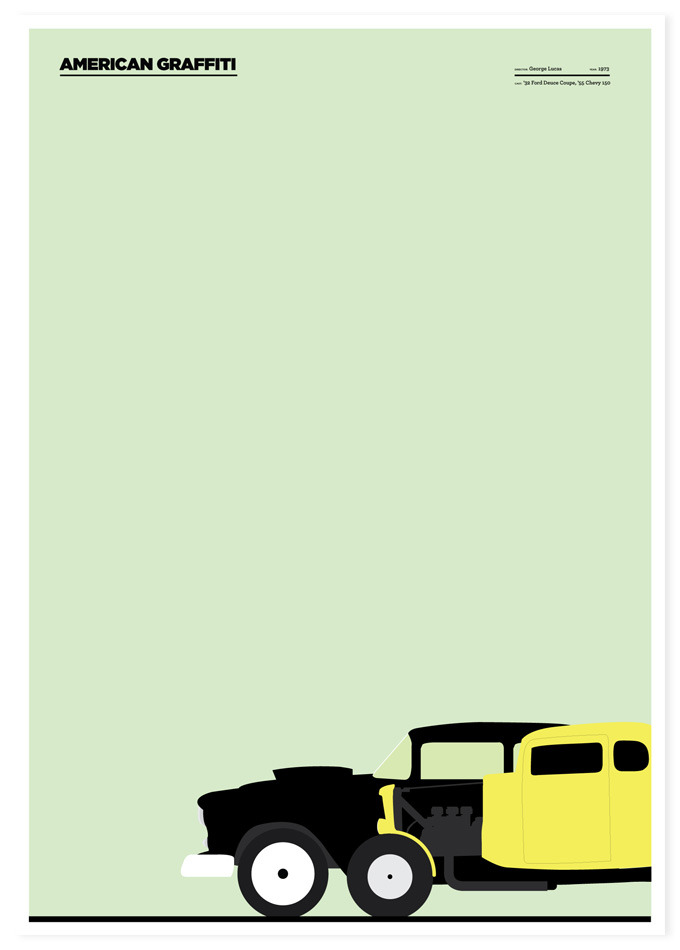 Road Movies Poster Series By Marcin Plonka