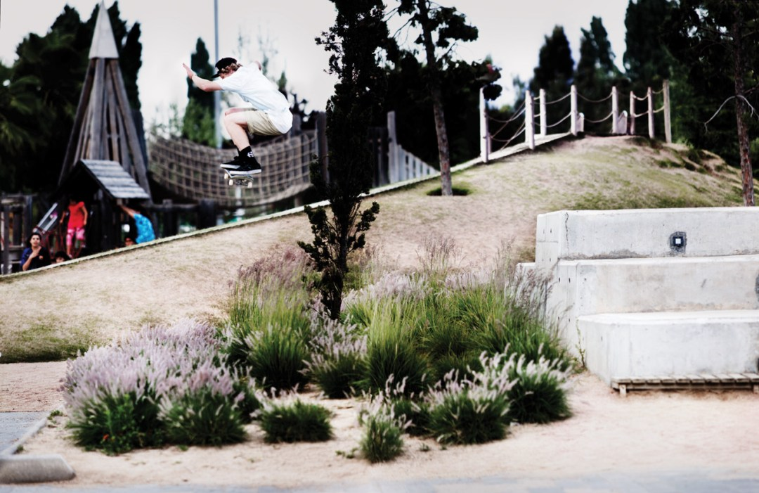 Barney Page. Switch 180. Barcelona