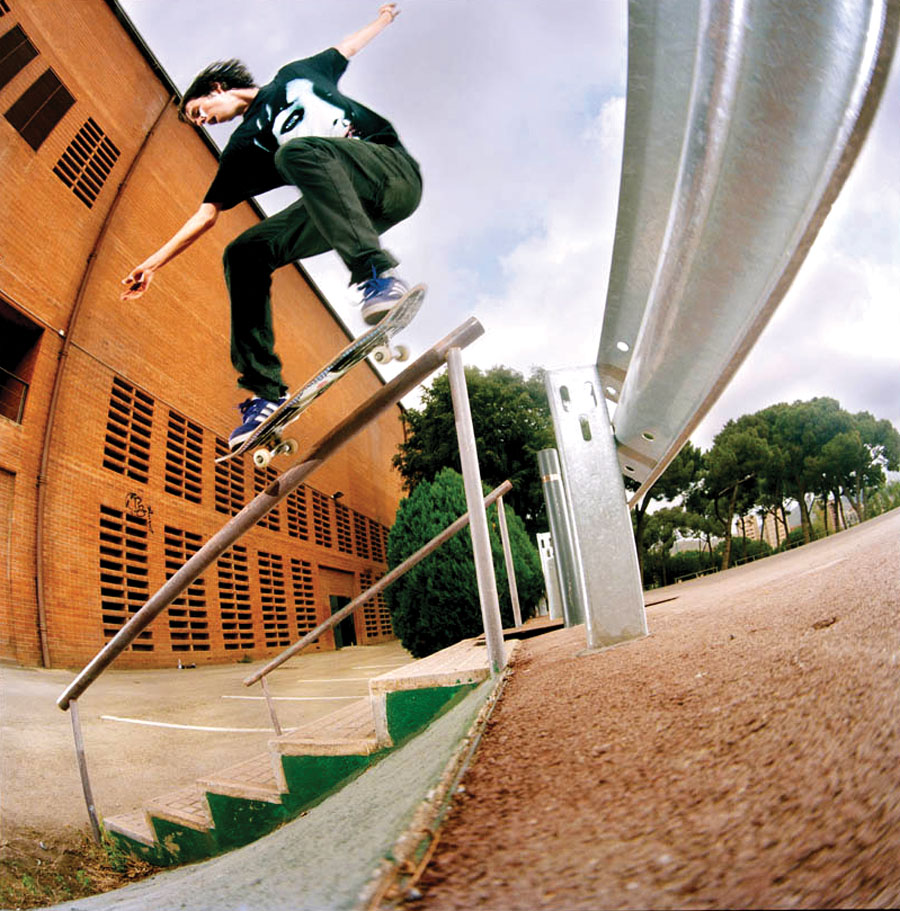 Kurt Winter.Ollie to 5050. Barcelona