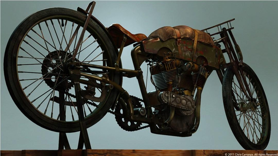 1915 Harley Davidson Board Track Racer :: By Chris Carranza (2)