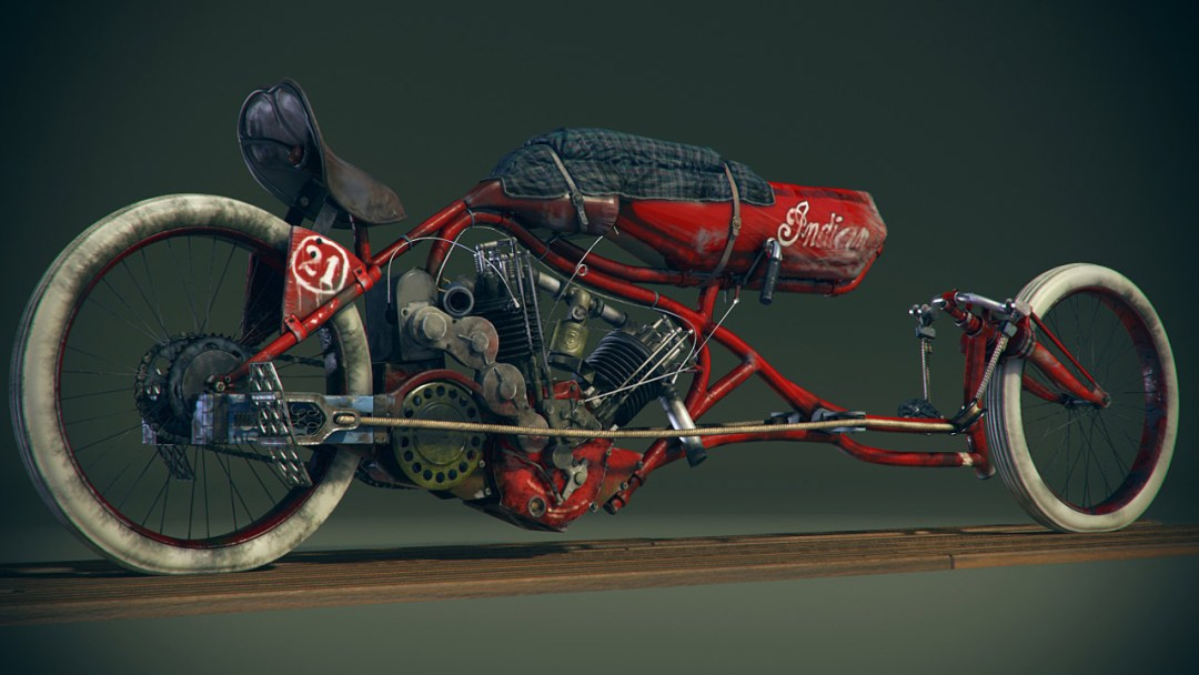 1915 Indian Board Track Bike :: By Craig Kitzmann (5)
