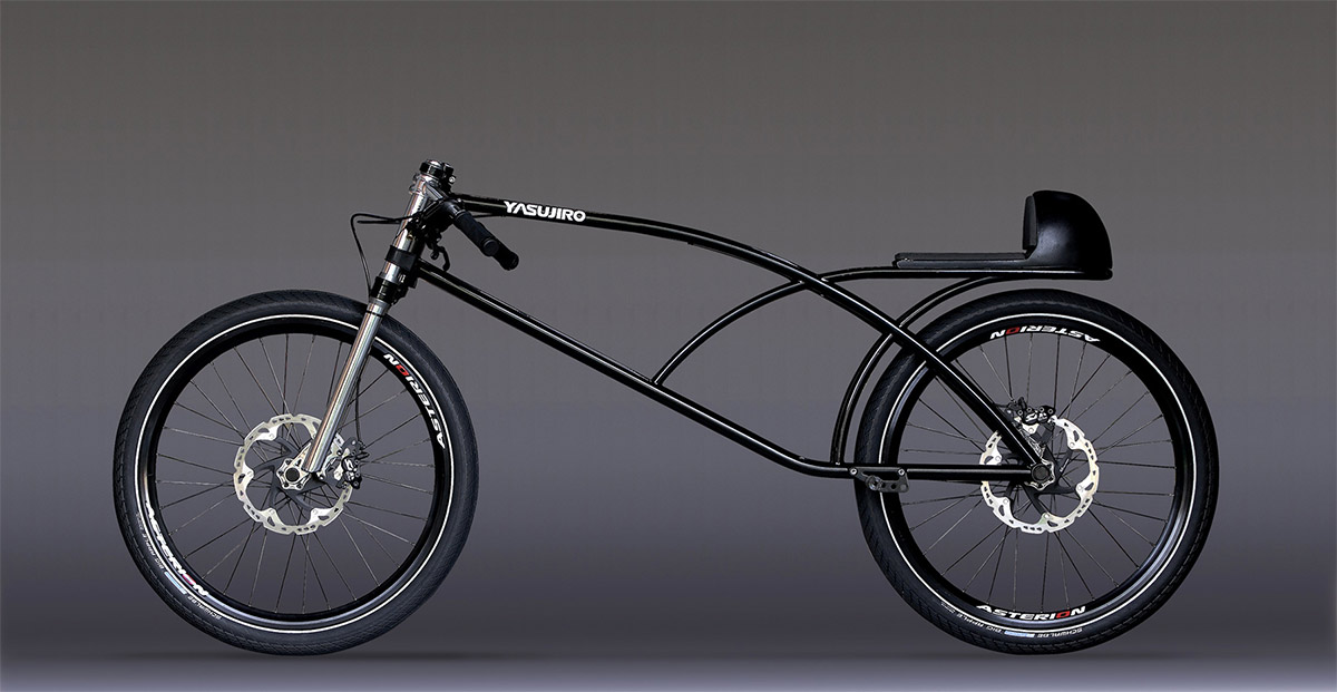 The Yasujiro Speedbike :: Asphalt Gravity Concept Bike (2)