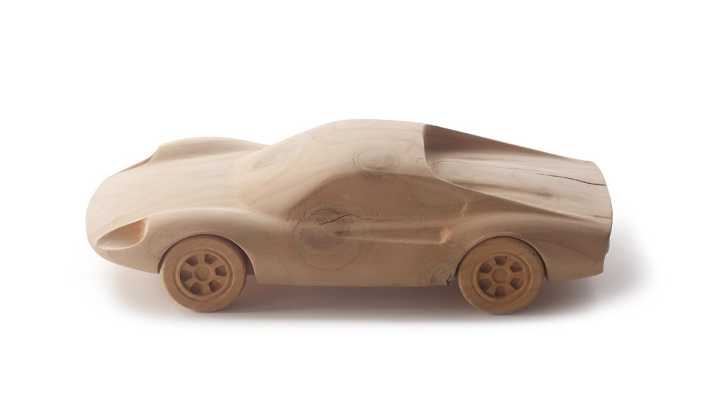 Wood Models From Pininfarina - DINO-206-GT