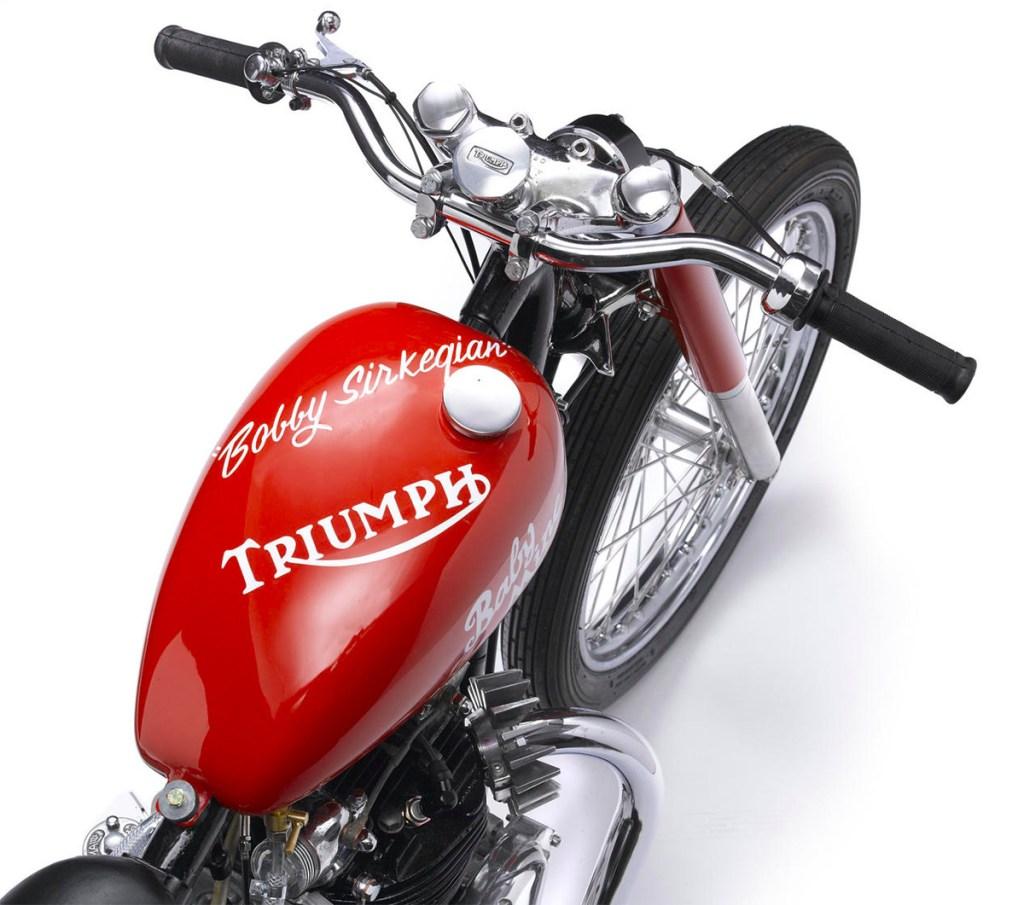 '51 Triumph Thunderbird 650 Baby Mine Dragbike