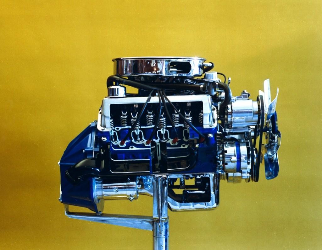 1970 Boss 302 engine cutaway