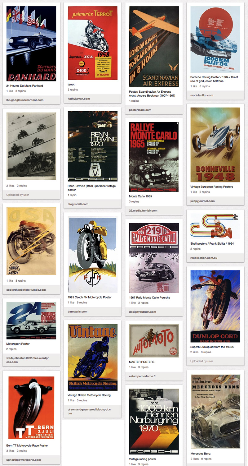 Speed Posters :: Megadeluxe On Pinterest
