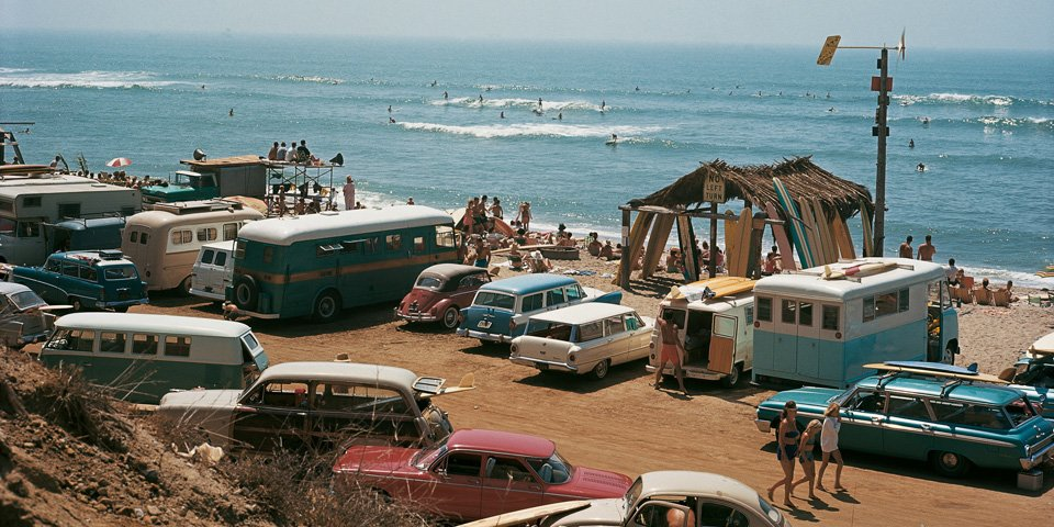 LeRoy Grannis. Surf Photography of the 1960s and 1970s :: via Taschen