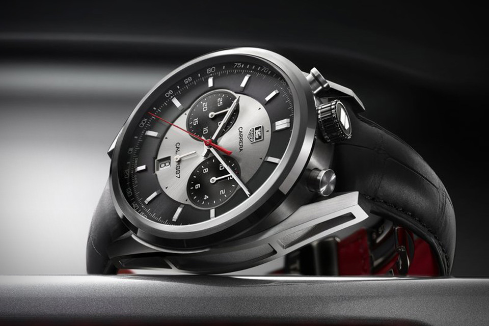 The TAG Heuer Carrera Calibre 1887 Chronograph