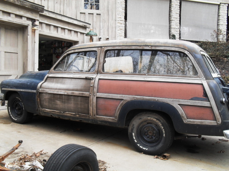 1951 Mercury Woody Wagon Project :: via Barn Finds