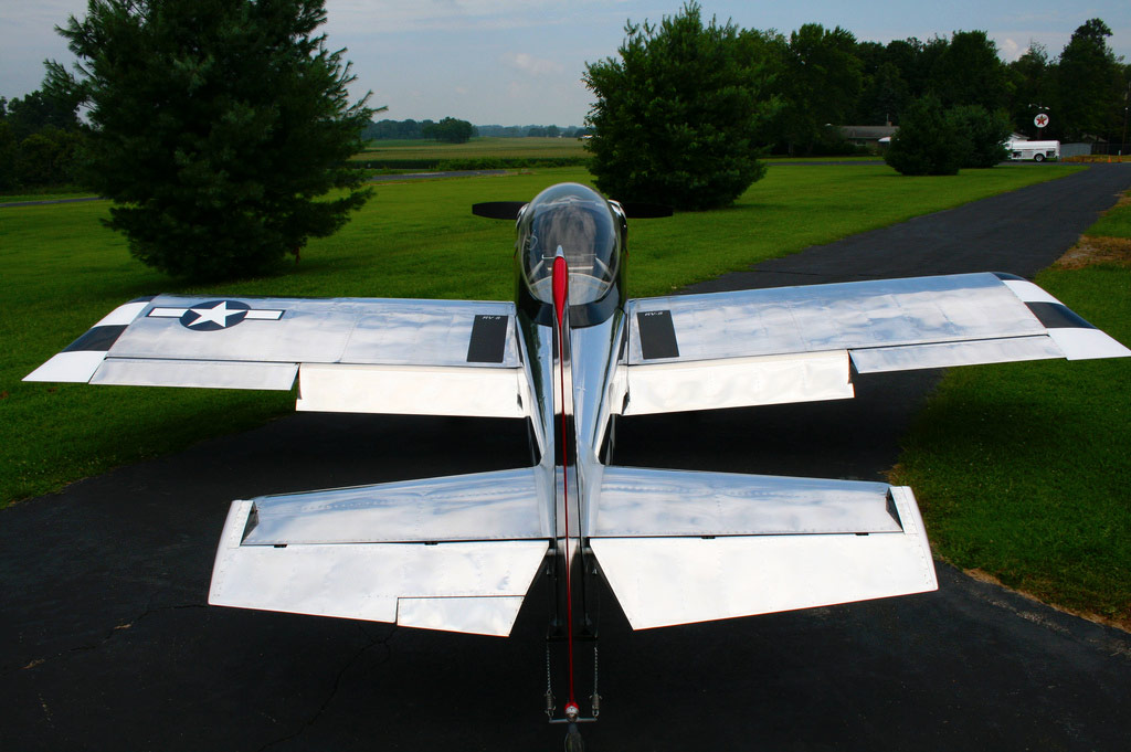 Homebuilt Fighter by Brent Owens
