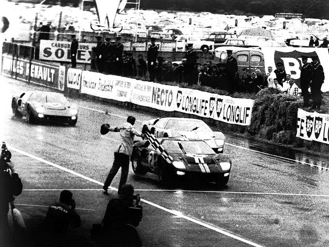 Ford's GT40 Voted top Le Mans Car of the 1960s