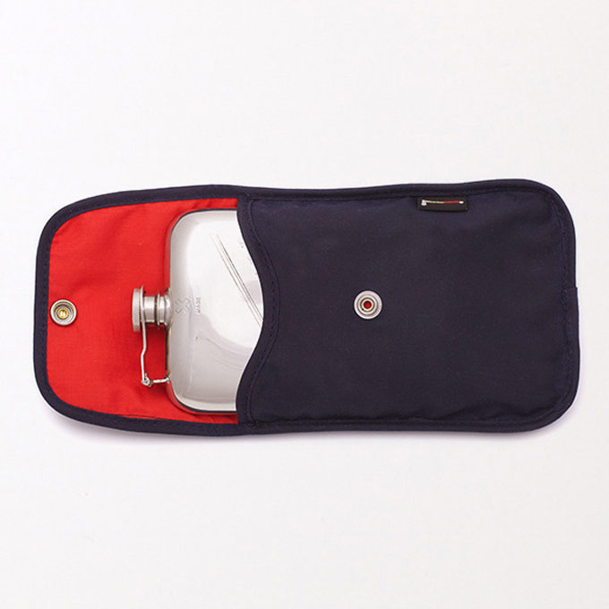 8 oz. Flask & Waxed Canvas Case :: Best Made