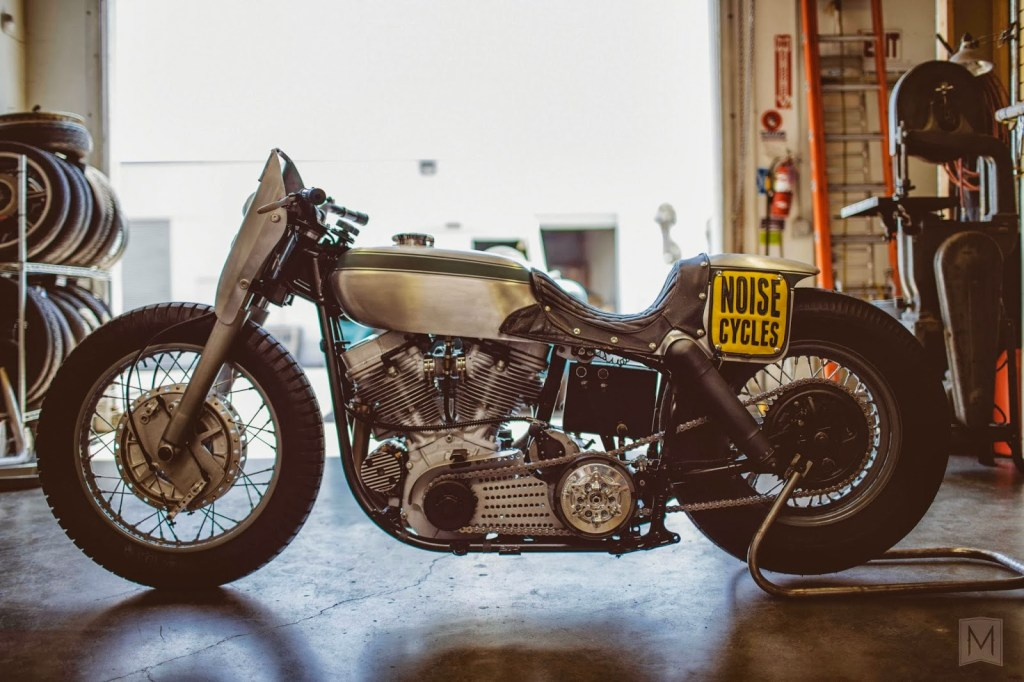 Noise Cycle's Born Free 5 Harley Panhead :: via Moto-Mucci