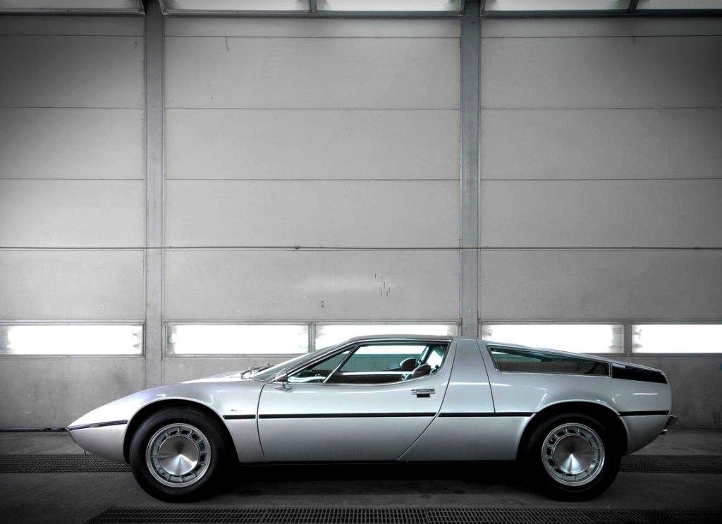 1973 Maserati Bora 4.9-litre Coupé