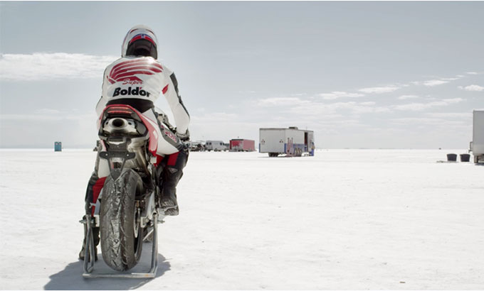 Shunji Yokokawa: Salt Flats World Record