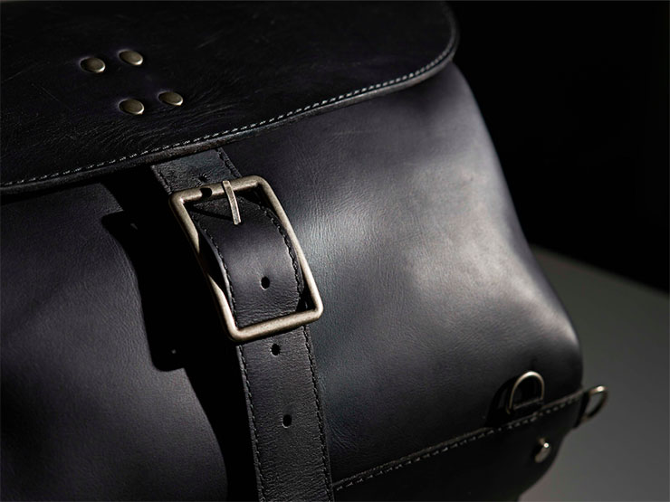 Motorcycle Luggage by Sellerie Georges