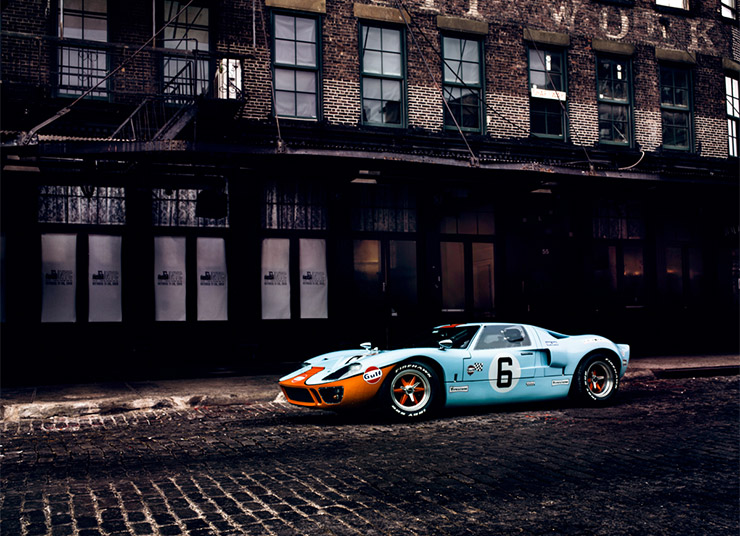 Ford GT40 & Michael Prichinello for the Scout Magazine