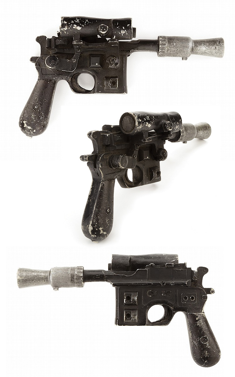 Han Solo DL-44 Blaster from Star Wars