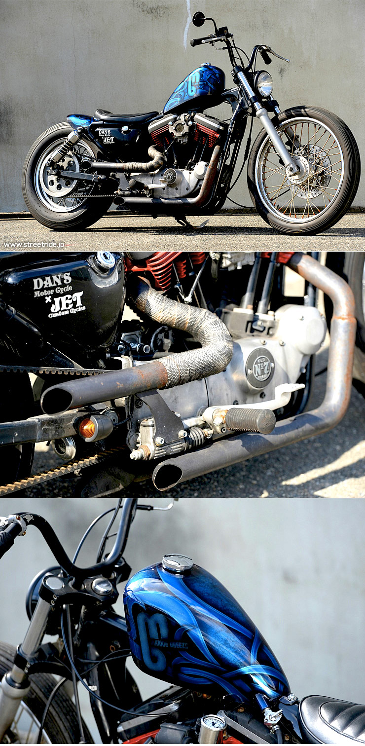 JET CUSTOM CYCLES / Harley-Davidson XL1200 :: via StreetRide