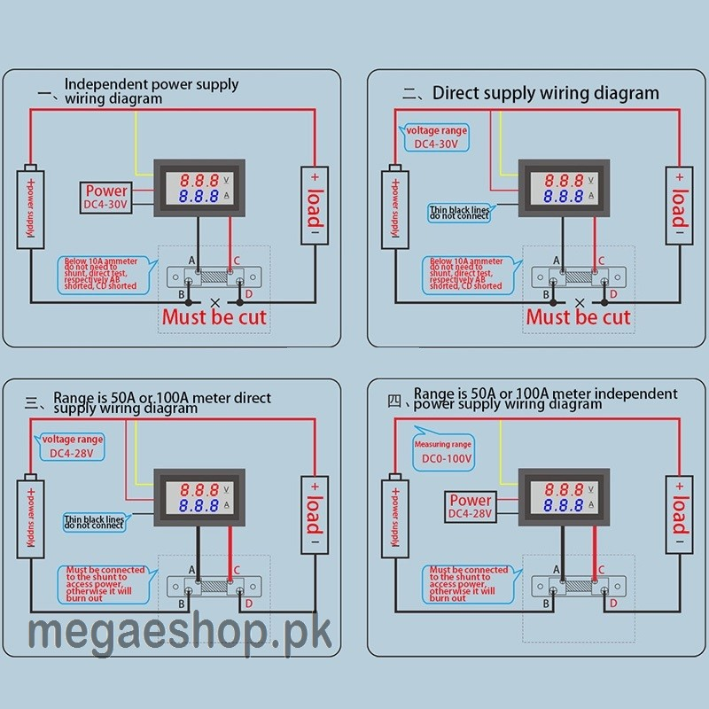 Amp Meter Shunt Diagram Download Wiring Diagram