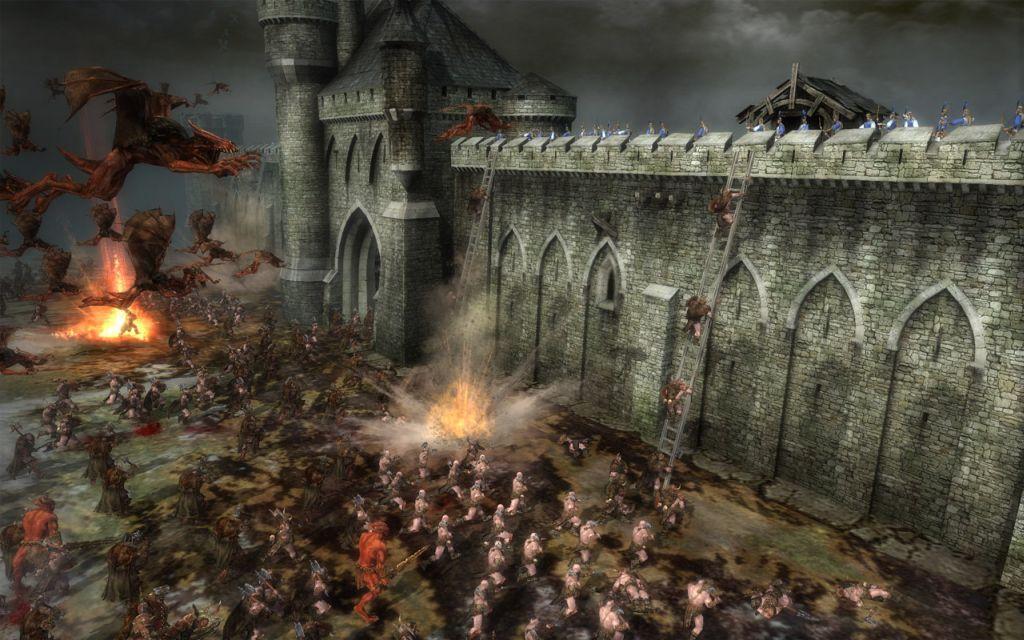 Vista Wallpaper Hd Game Patches Warhammer Battle March V2 14 Megagames