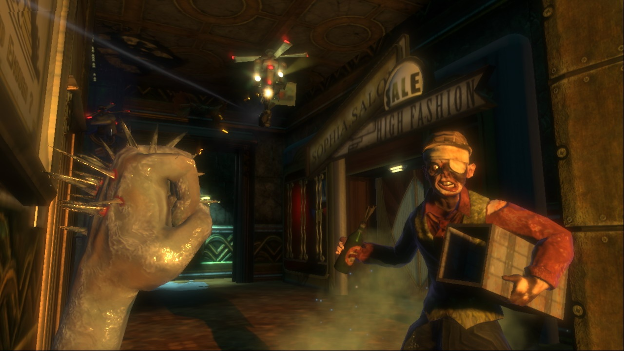 3d Art Girl Wallpaper Video Trailer Bioshock Playstation 3 Trailer Megagames