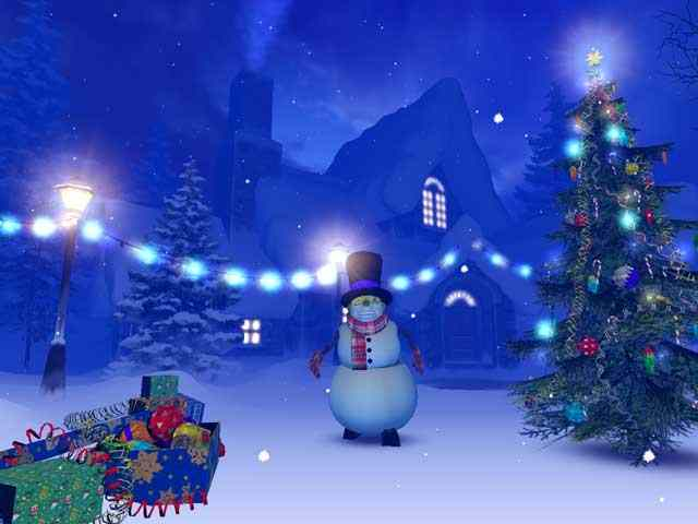 Animation Wallpaper For Pc 3d Download S Christmas 3d Screensaver Megagames
