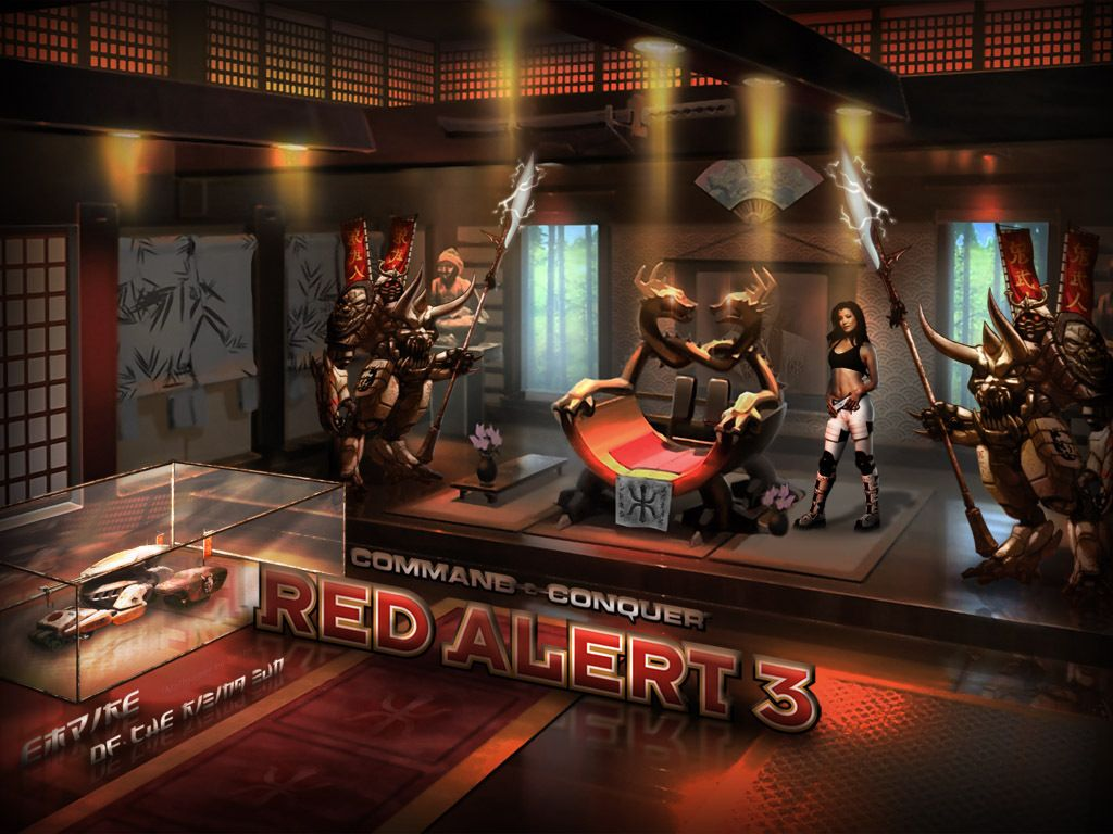 Android Fall Live Wallpaper News Command Amp Conquer Red Alert 3 Commander S Challenge